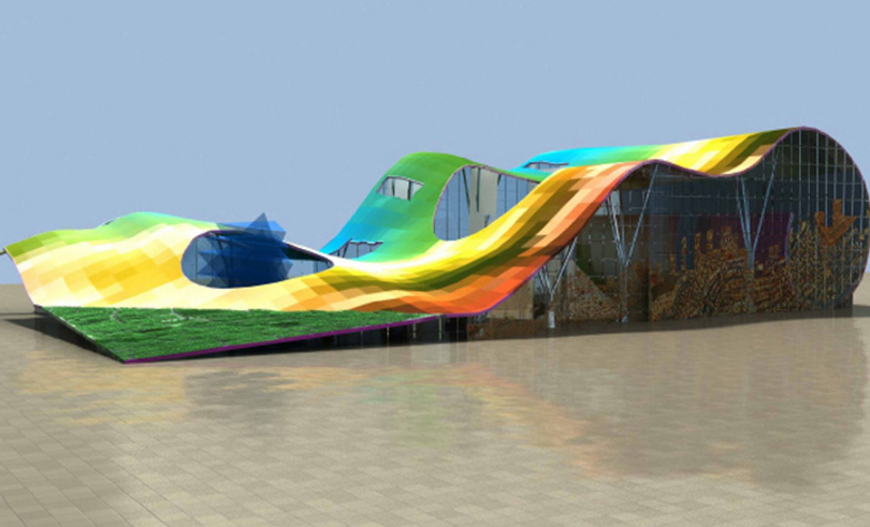 Matharoo Associates-15 Iconic Projects- Indian Pavilion -3