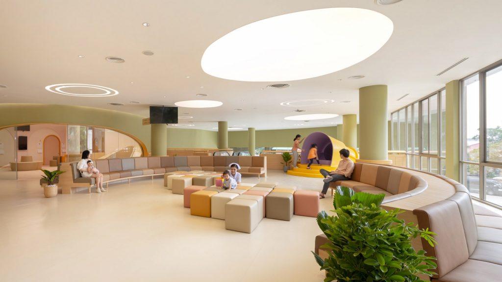 Rethinking healthcare's Non-Conventional designs-EKH Children Hospital -6
