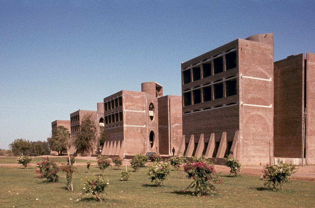 Louis Kahn- Cities and buildings that inspired Ideas-IIM Ahmedabad -1