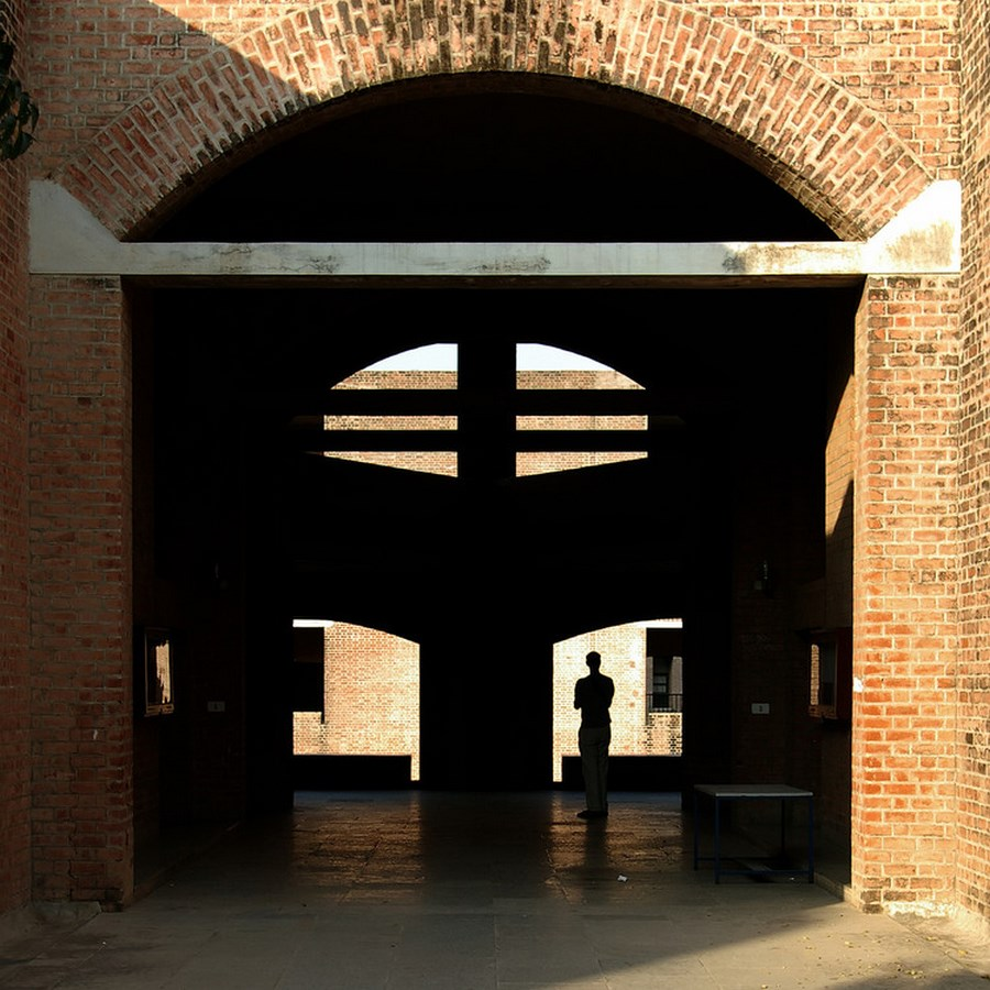 Louis Kahn- Cities and buildings that inspired Ideas-IIM Ahmedabad -2