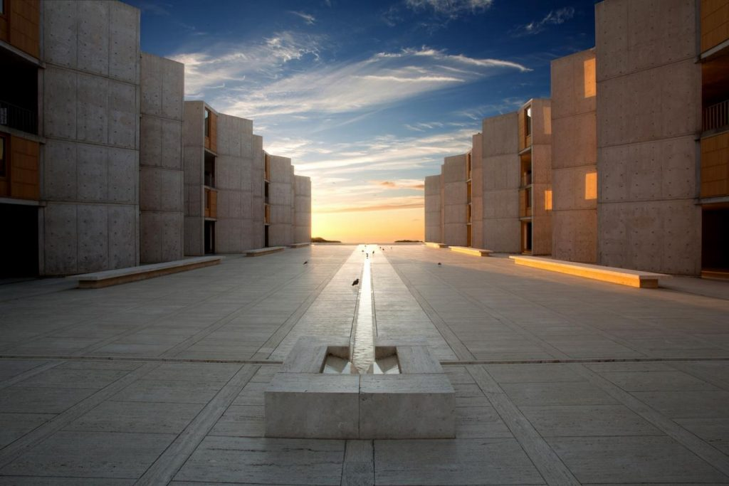 Louis Kahn- Cities and buildings that inspired Ideas-Salk Institute