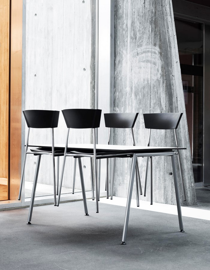 TORO stacking chair and table - Sheet3