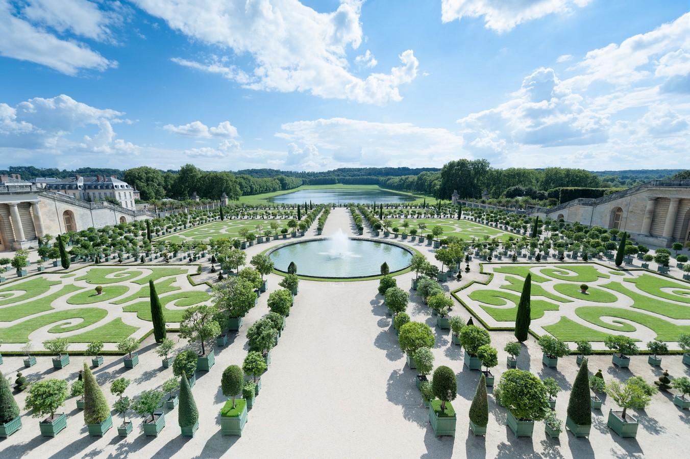 The Gardens of Versailles- Sheet1