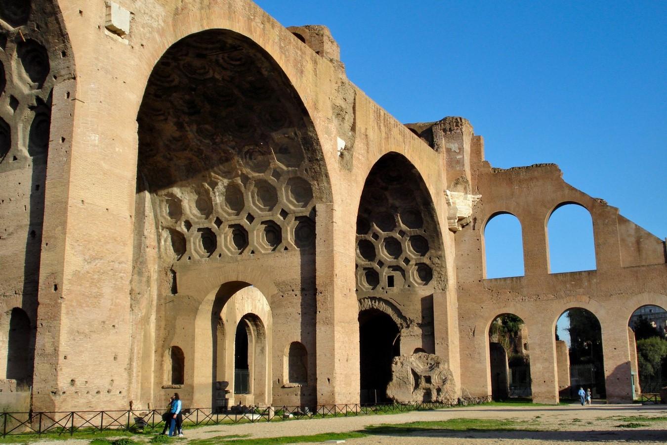 The basilica Maxentius