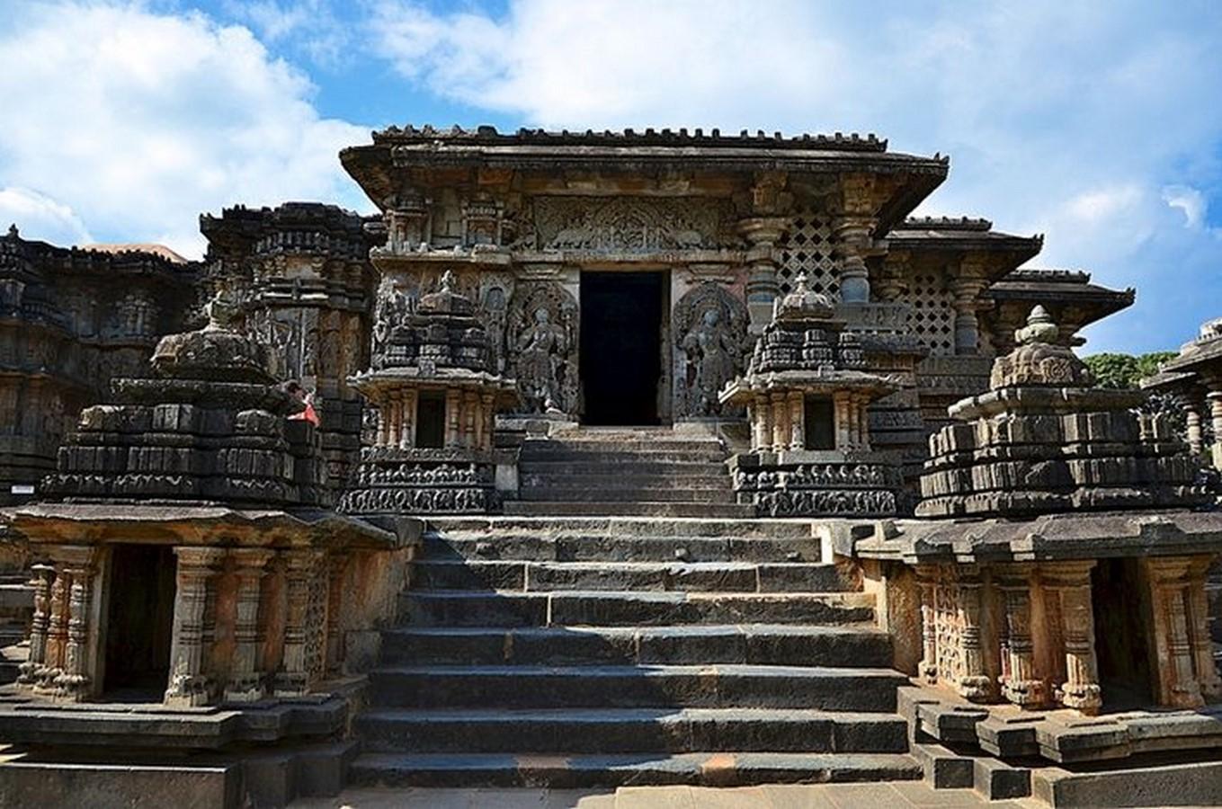 Hoysaleswara Temple Complex, Halebidu, Hassan, Karnataka, India.- Sheet1