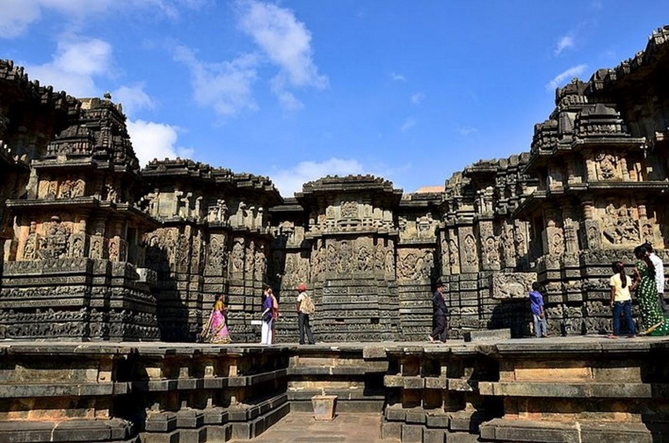 Hoysaleswara Temple Complex, Halebidu, Hassan, Karnataka, India.- Sheet2