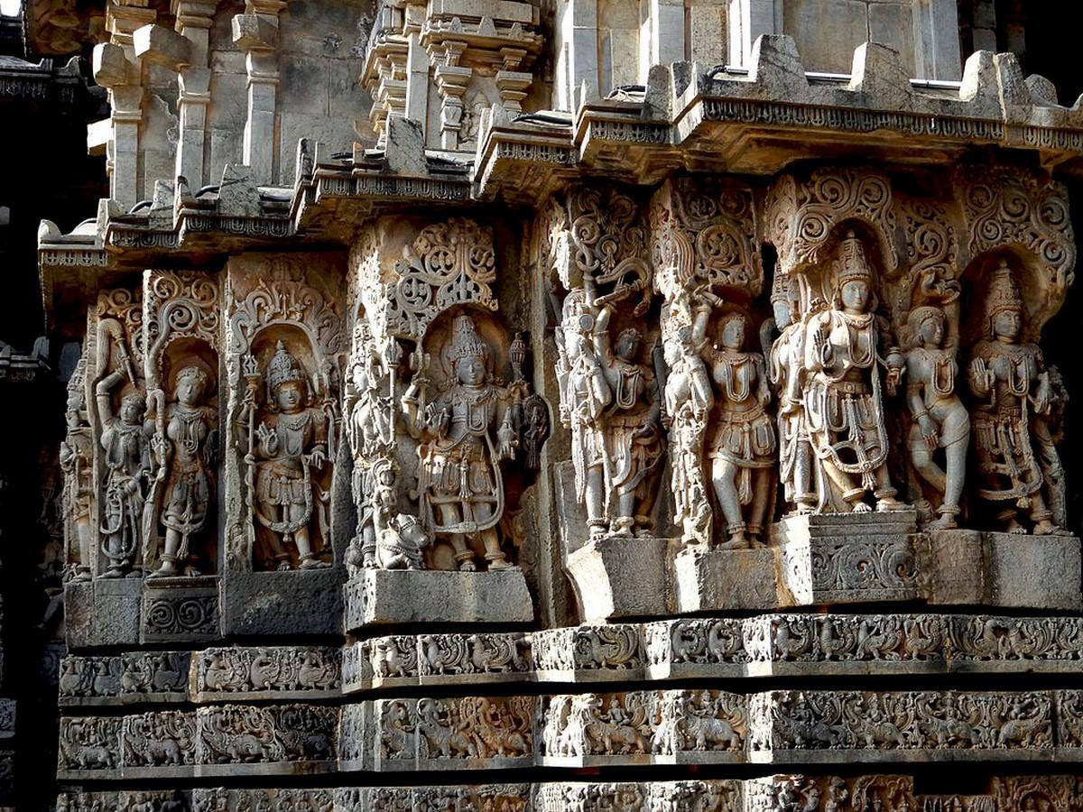 Hoysaleswara Temple Complex, Halebidu, Hassan, Karnataka, India. - Sheet3