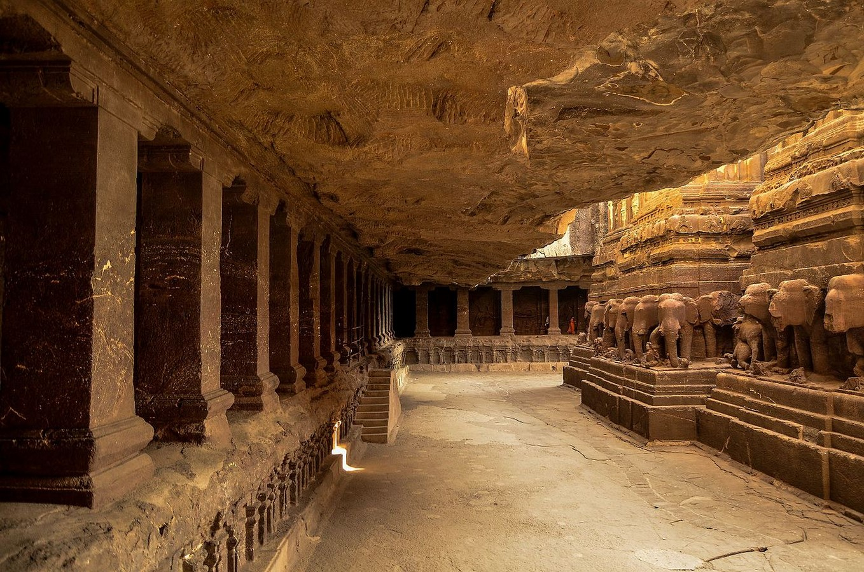 Kailasa Temple Complex, Ellora, Aurangabad, Maharashtra. - Sheet5