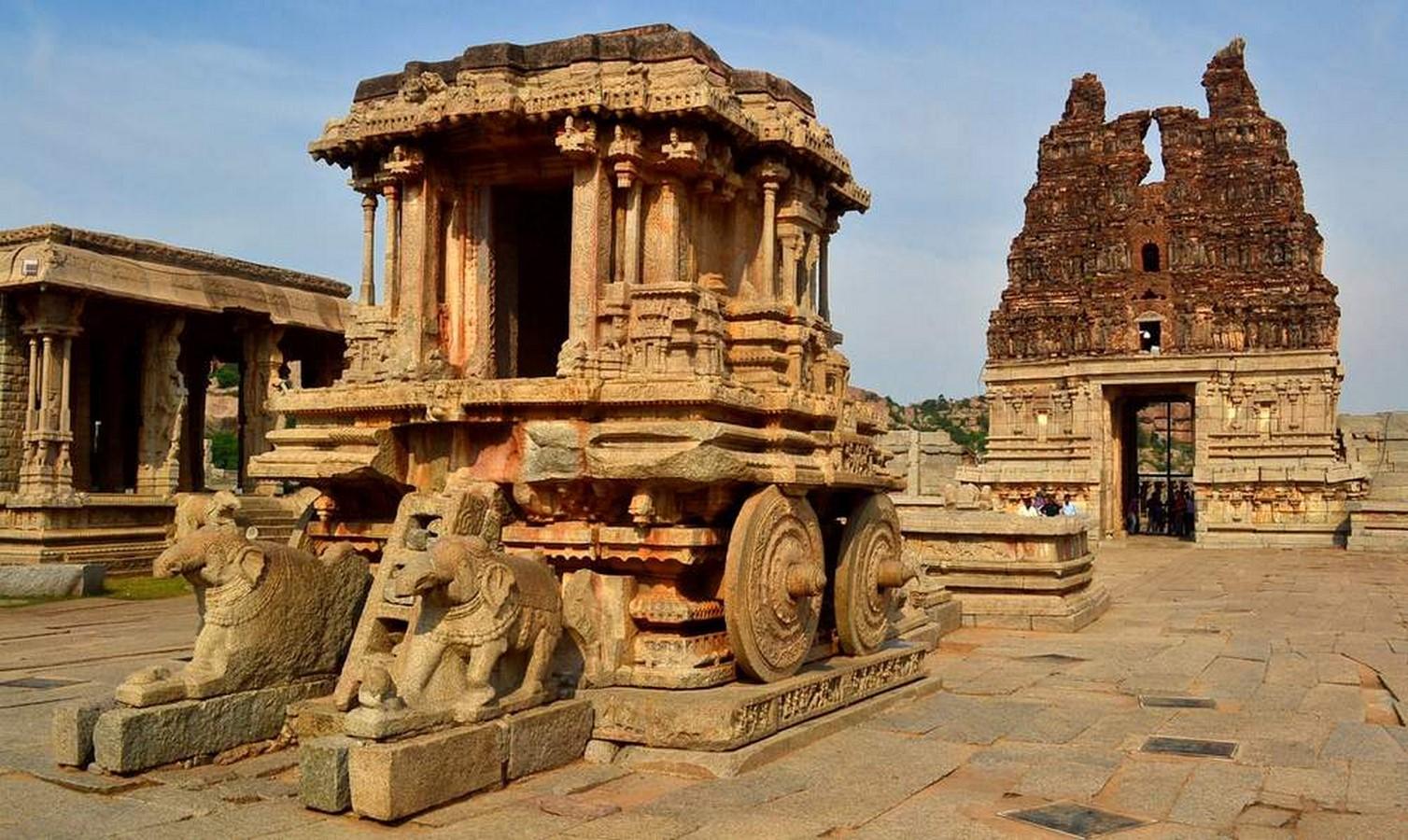 Vittala Temple Complex,Hampi, Karnataka,India - Sheet2