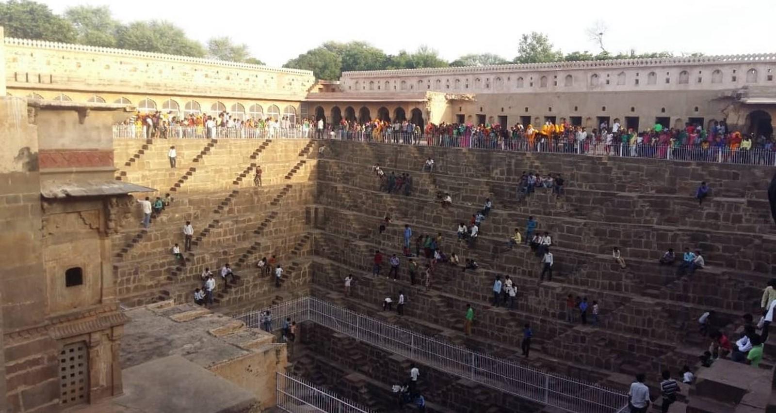 Chand Baori, Rajasthan - Sheet3