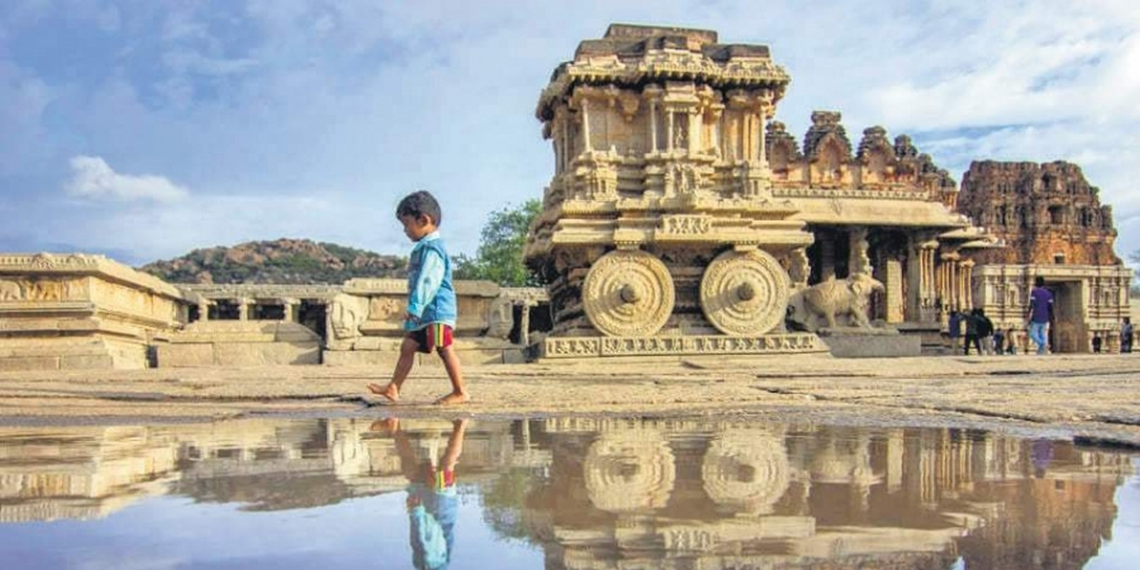 Ruins of the Vijayanagara Empire, Hampi, Karnataka - Sheet1