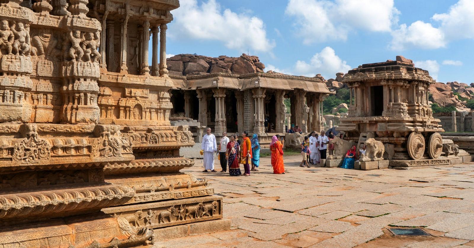 Ruins of the Vijayanagara Empire, Hampi, Karnataka- Sheet2
