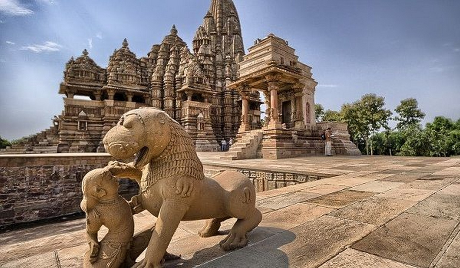 The Temple Complex at Khajuraho, Madhya Pradesh - Sheet3