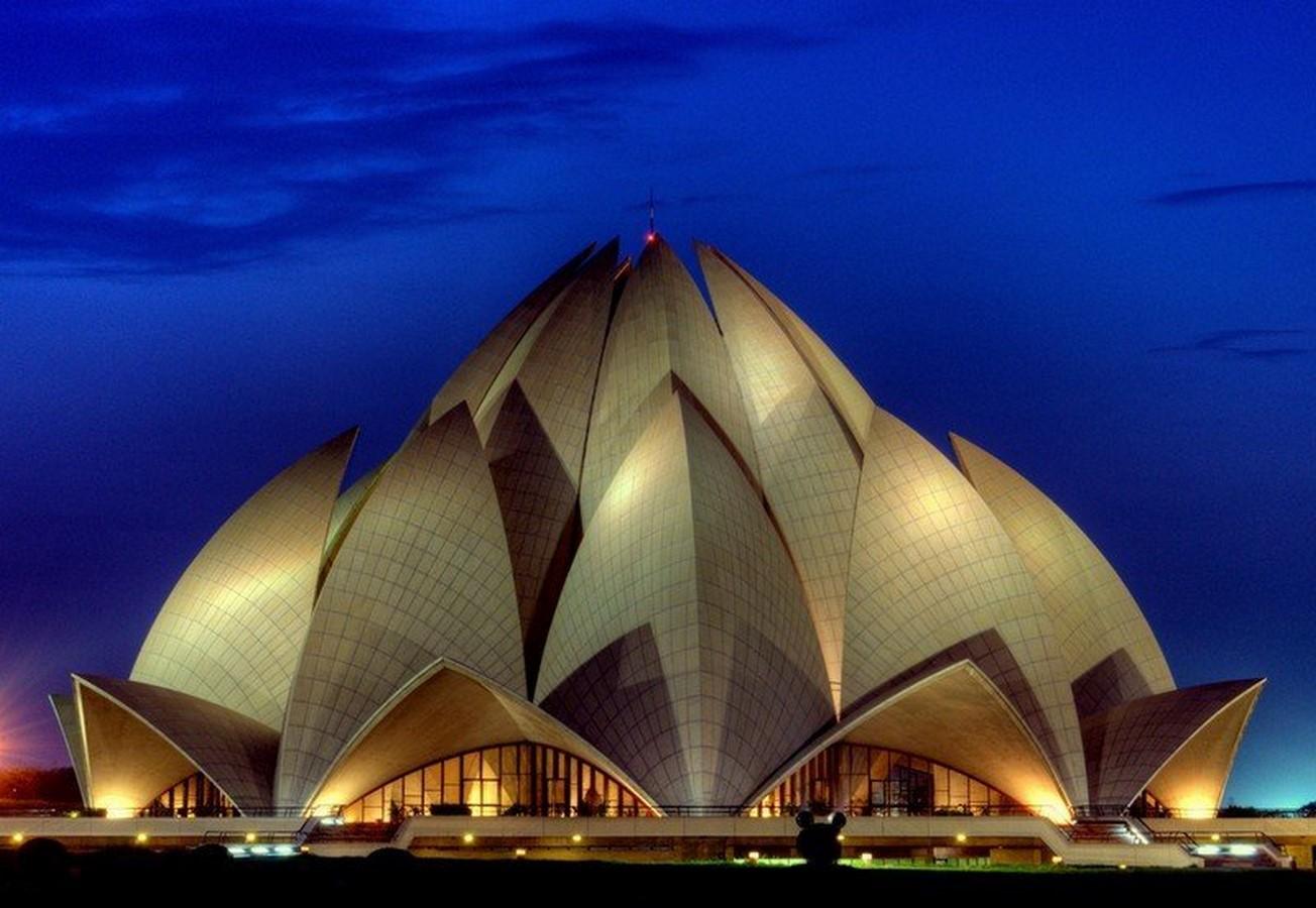 Bahai house of worship (Lotus temple) - Sheet1