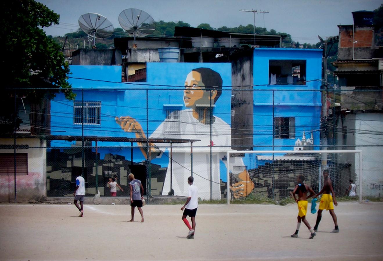 Favela Paintings at Santa Marta - Sheet1