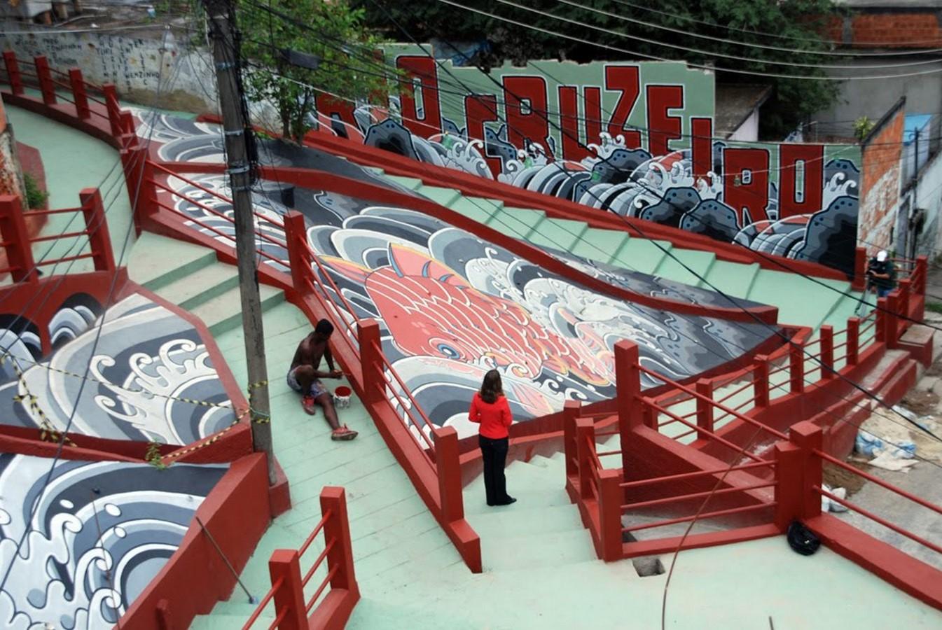Favela Paintings at Santa Marta - Sheet3