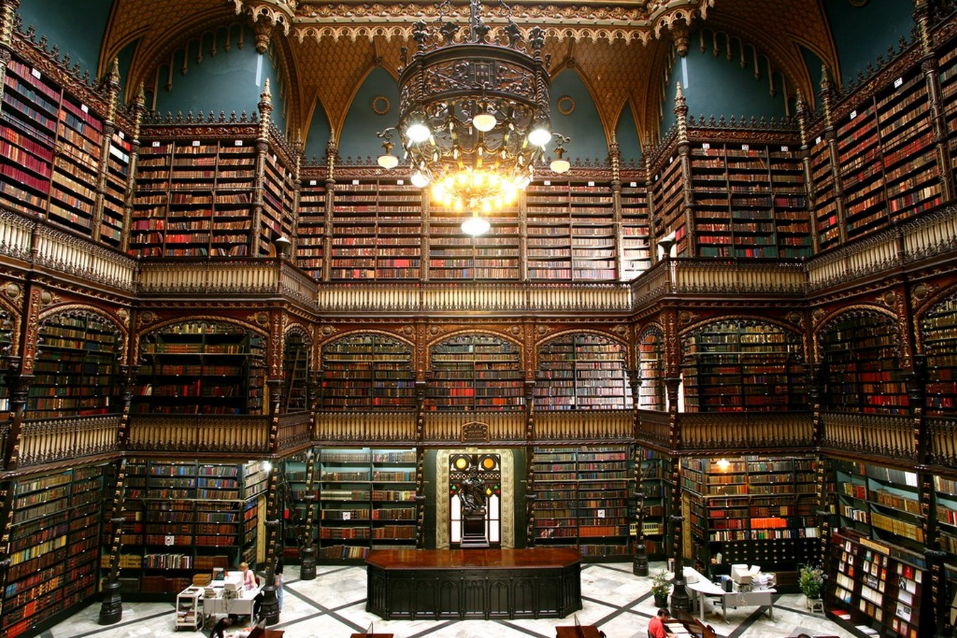 Royal Portuguese Reading Room - Sheet2