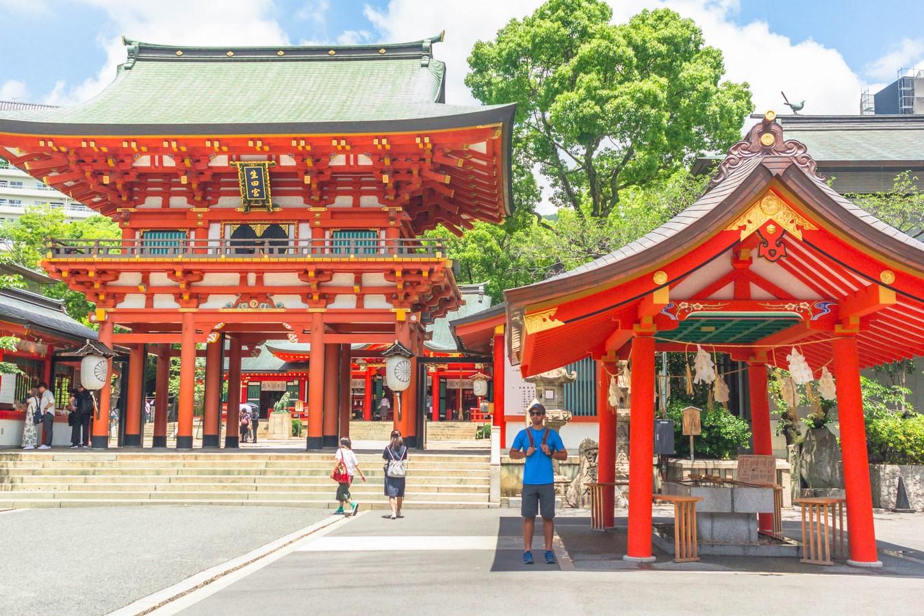 Ikuta Shrine - Sheet1