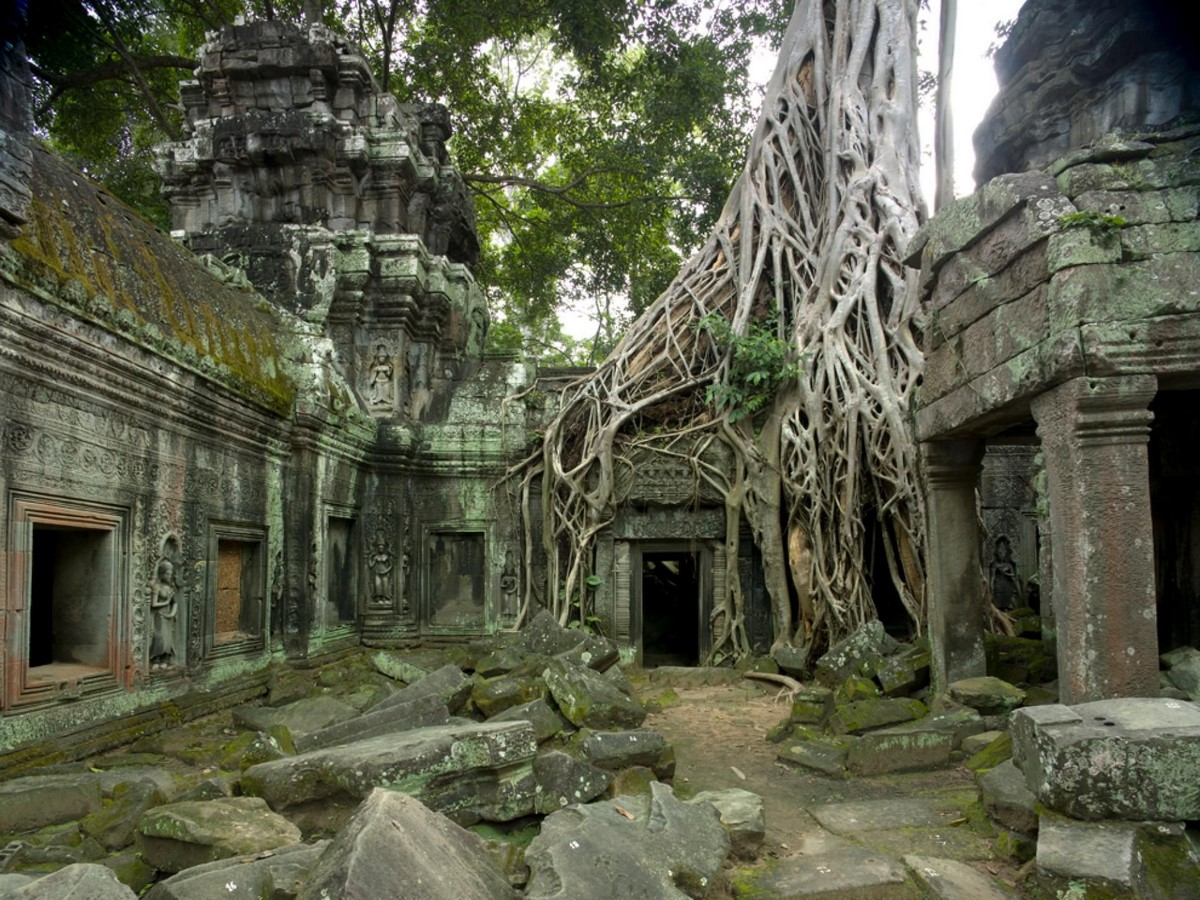 Historicity in Architecture - Angkor Wat, Cambodia - Sheet2