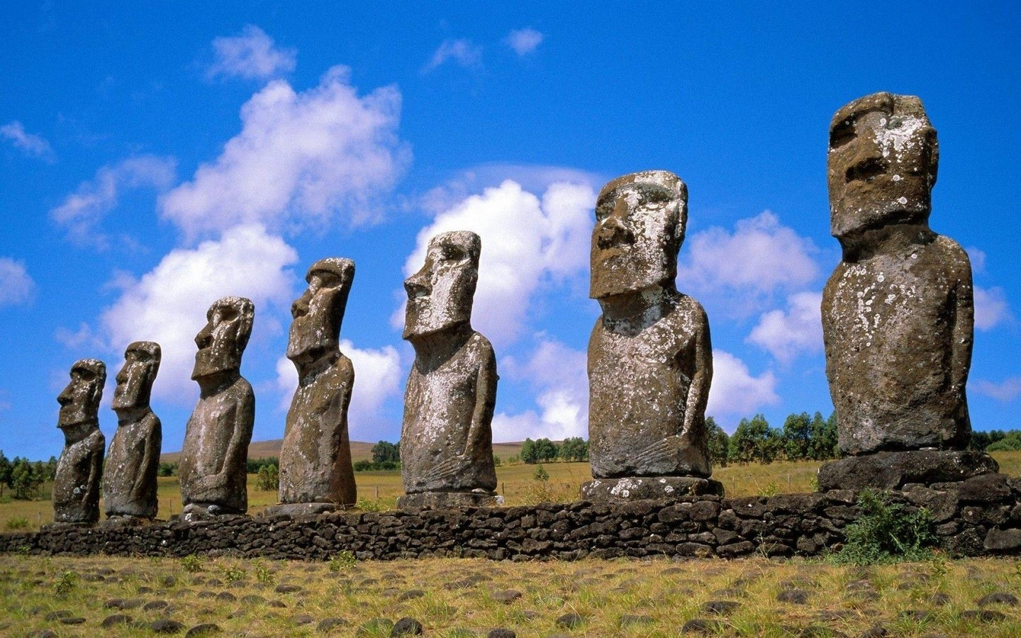 AhuTongariki, Easter Island, Chile - Sheet2