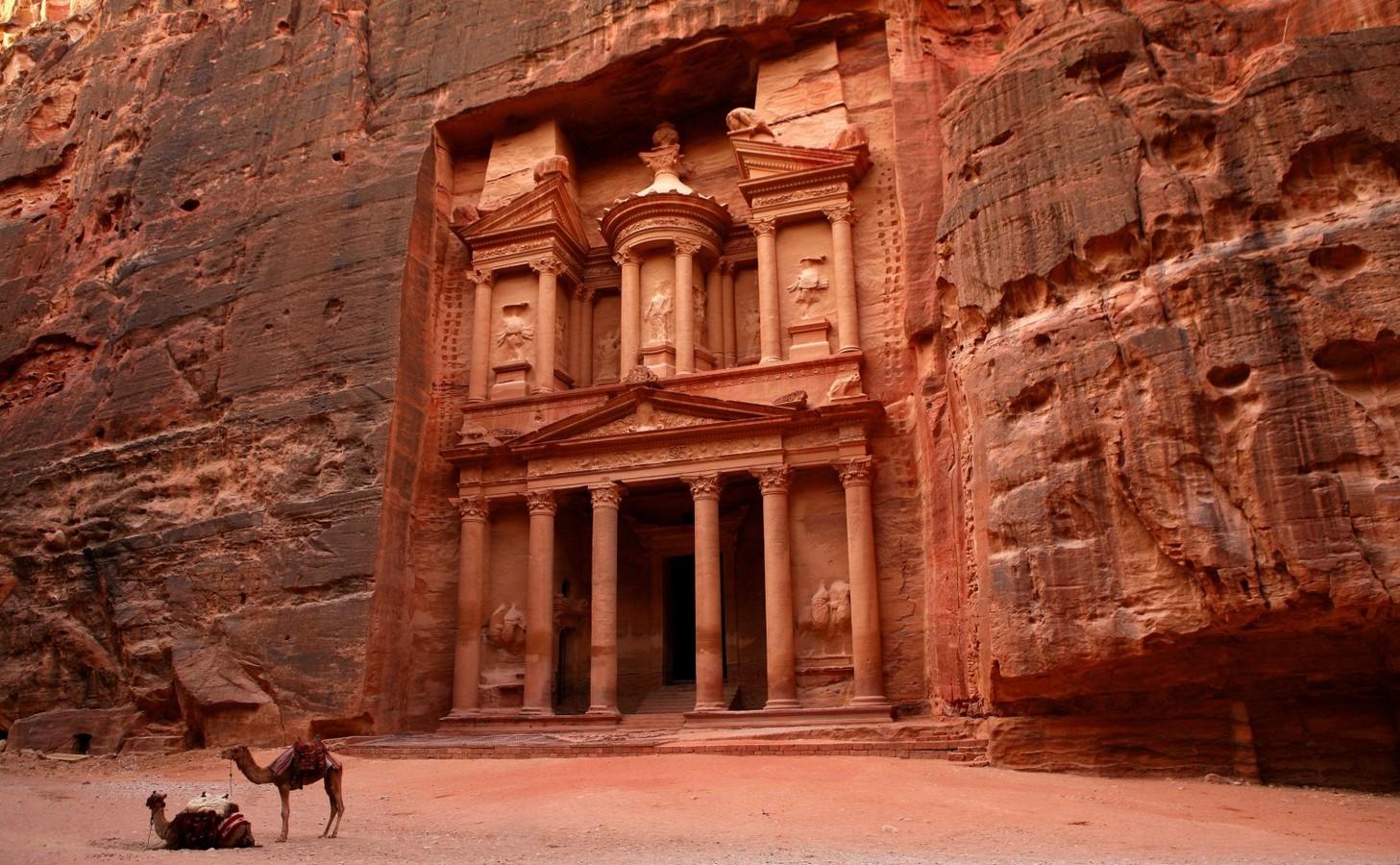 Historicity in Architecture - Petra, Jordan - Sheet1