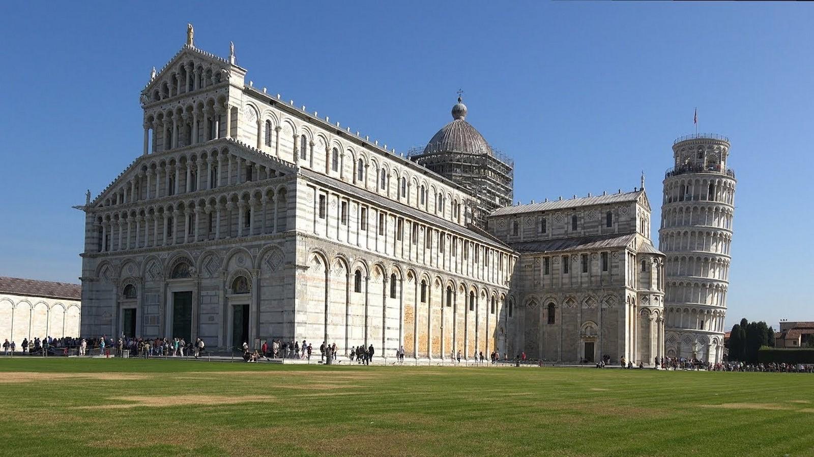 Piazza Dei Miracoli, Pisa, Italy - Sheet1