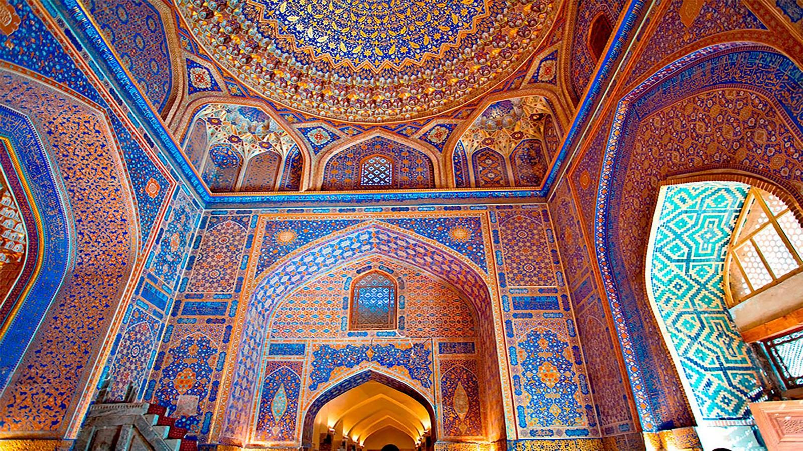 Historicity in Architecture - Registan, Uzbekistan - Sheet2