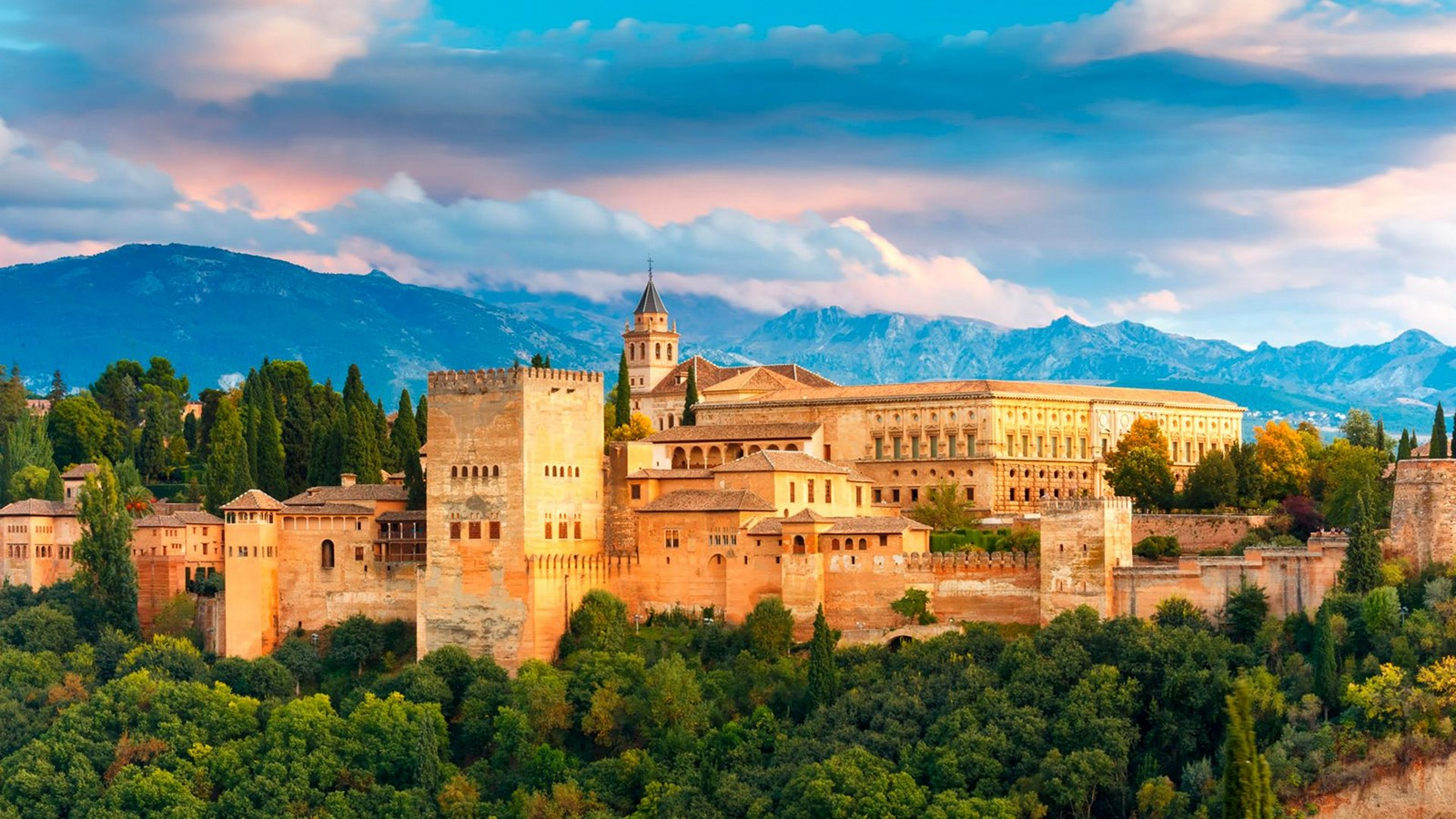 The Alhambra, Spain - Sheet1