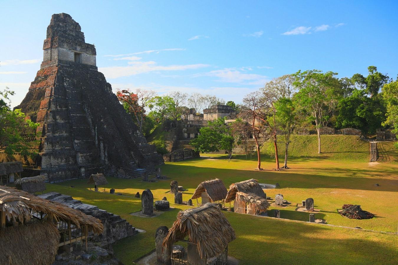 Historicity in Architecture - Tikal, Guatemala - Sheet1