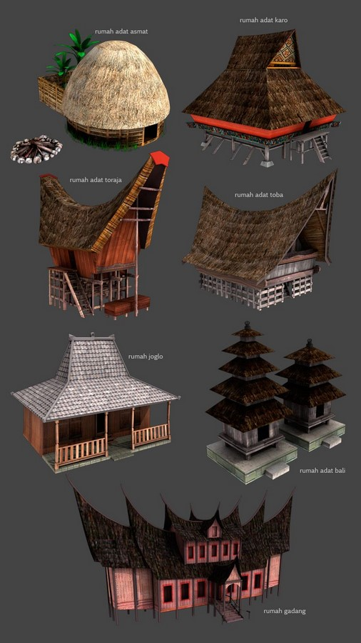 Vernacular Architecture of Indonesia - Sheet7