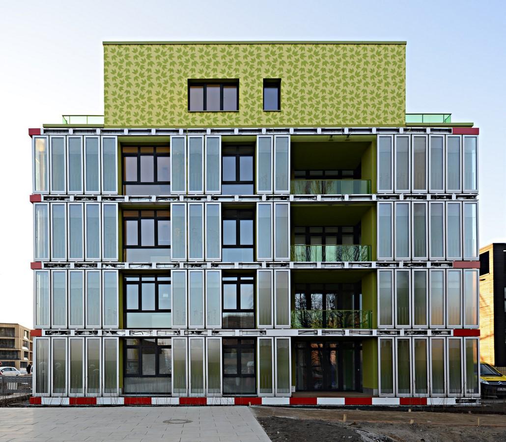 The BIQ House: bioreactor façade - Sheet1