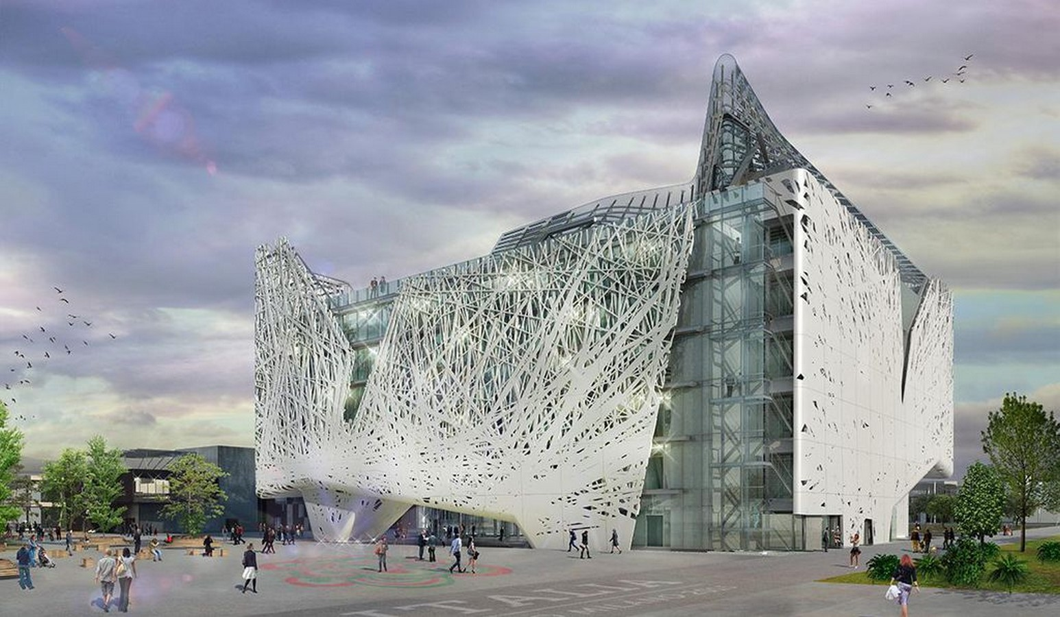 An Ornate Double Skin that Filters Air Pollution - Sheet3