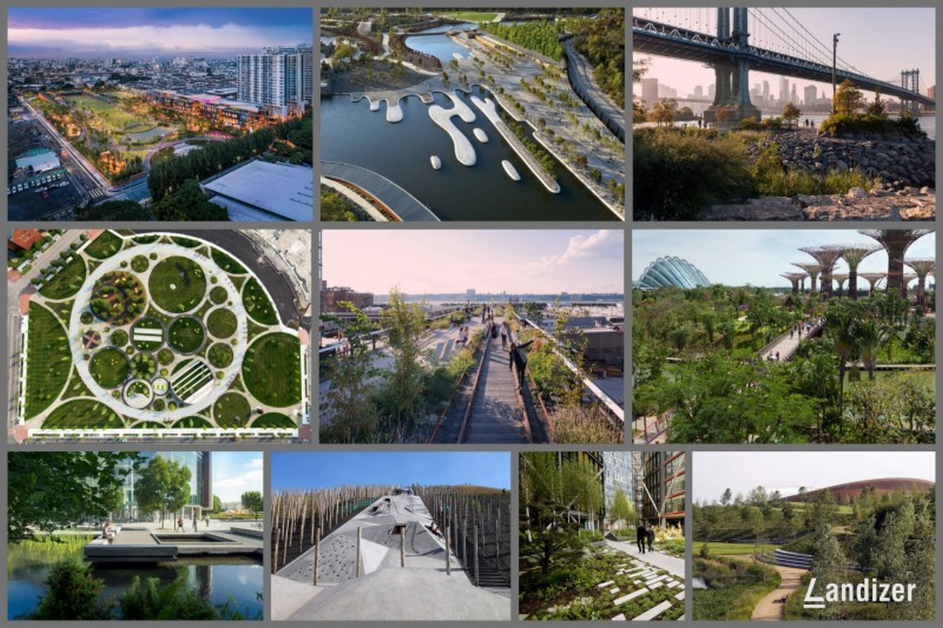 Landscape architecture doesn't have a variant scope of work