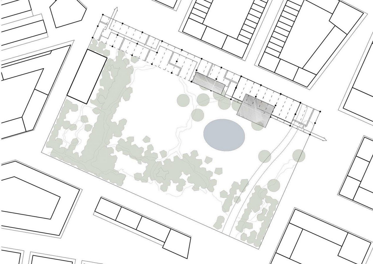 Designing the landscape of a site as a separate individual entity. Not with keeping the building and its user in mind - Sheet2