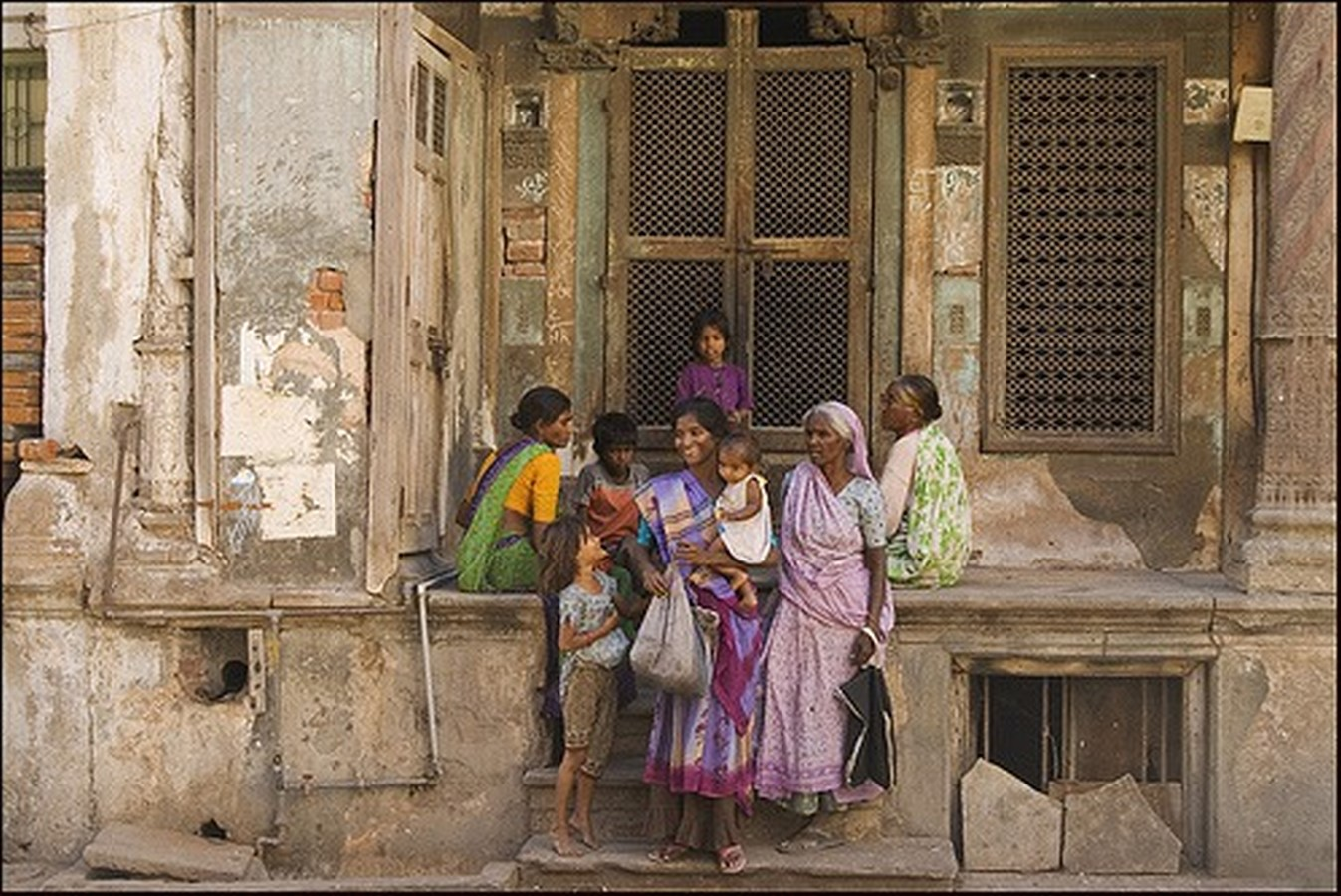 Walking through the streets of Ahmedabad - Sheet5