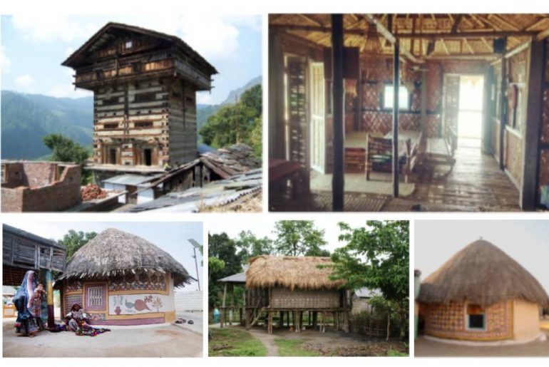 5 Vernacular Architecture styles in India
