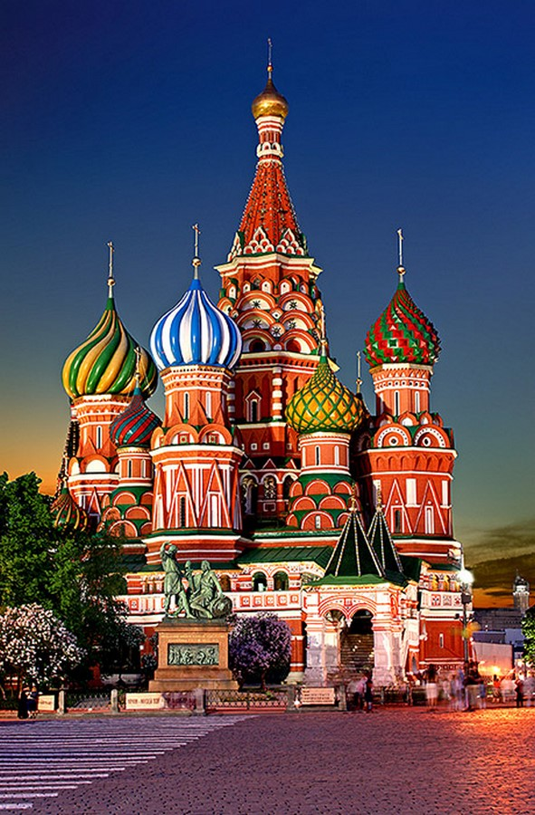 10 Things you did not know about St. Basil's Cathedral - Moscow - Sheet2