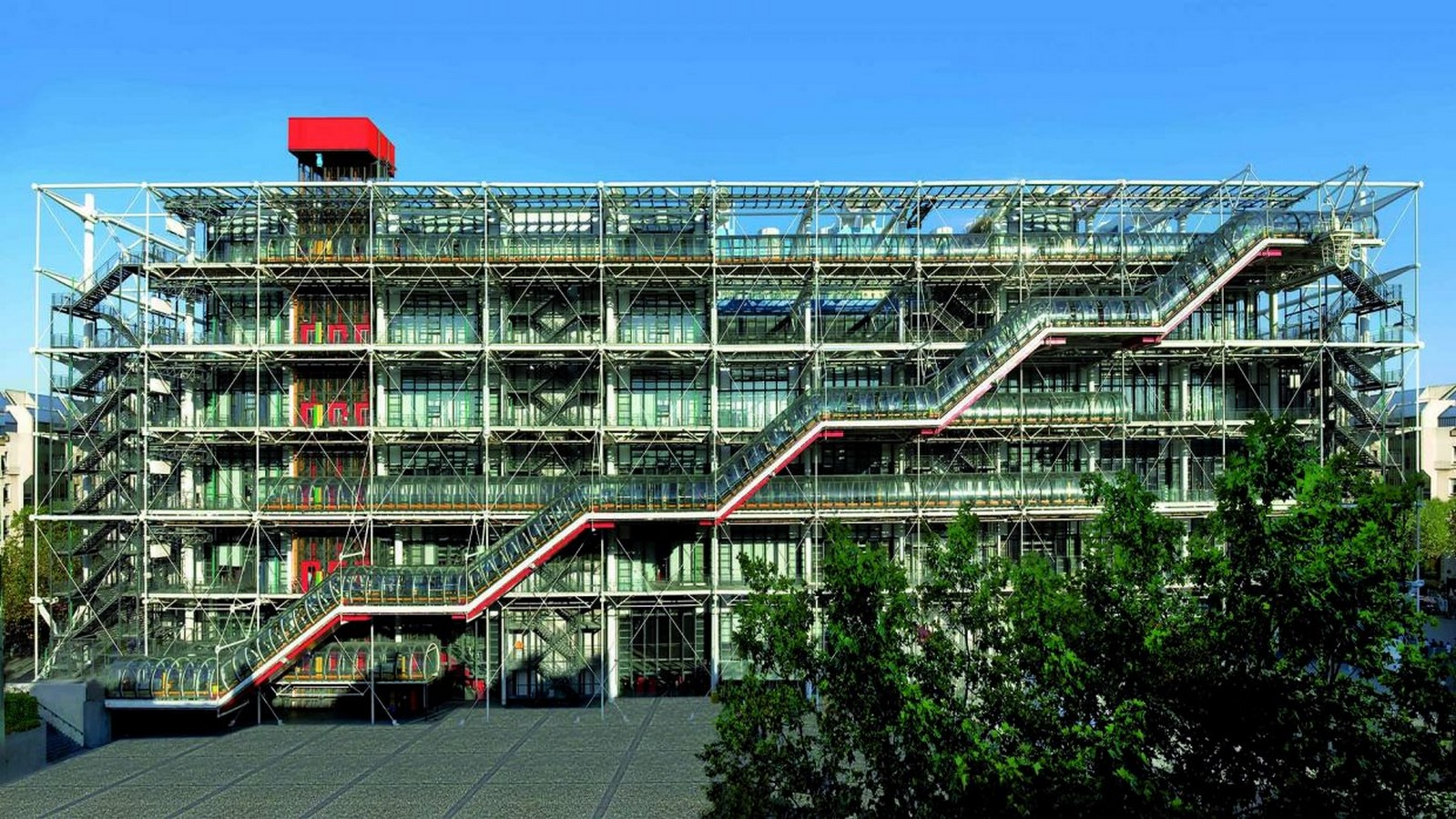 10 Things you did not know about Pompidou Center -France - Sheet1