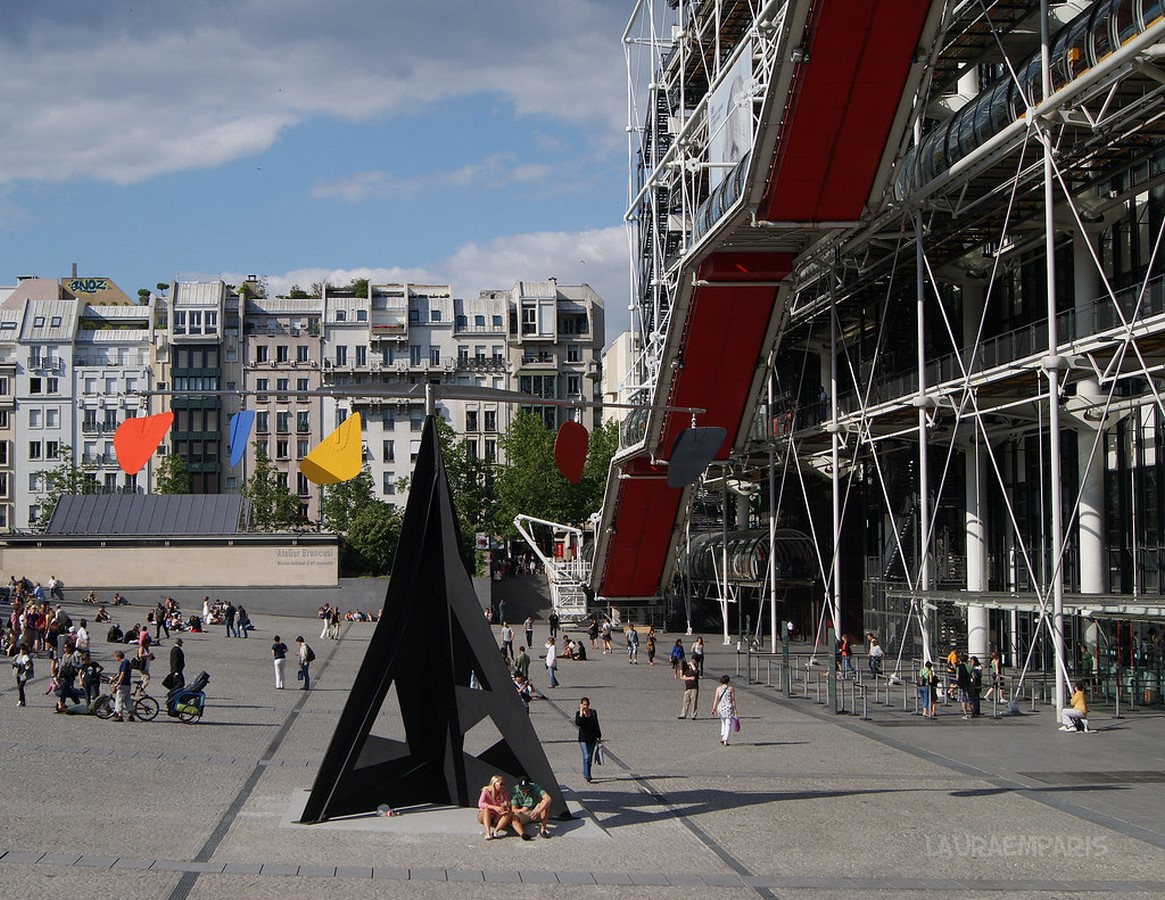 10 Things you did not know about Pompidou Center -France - Sheet21