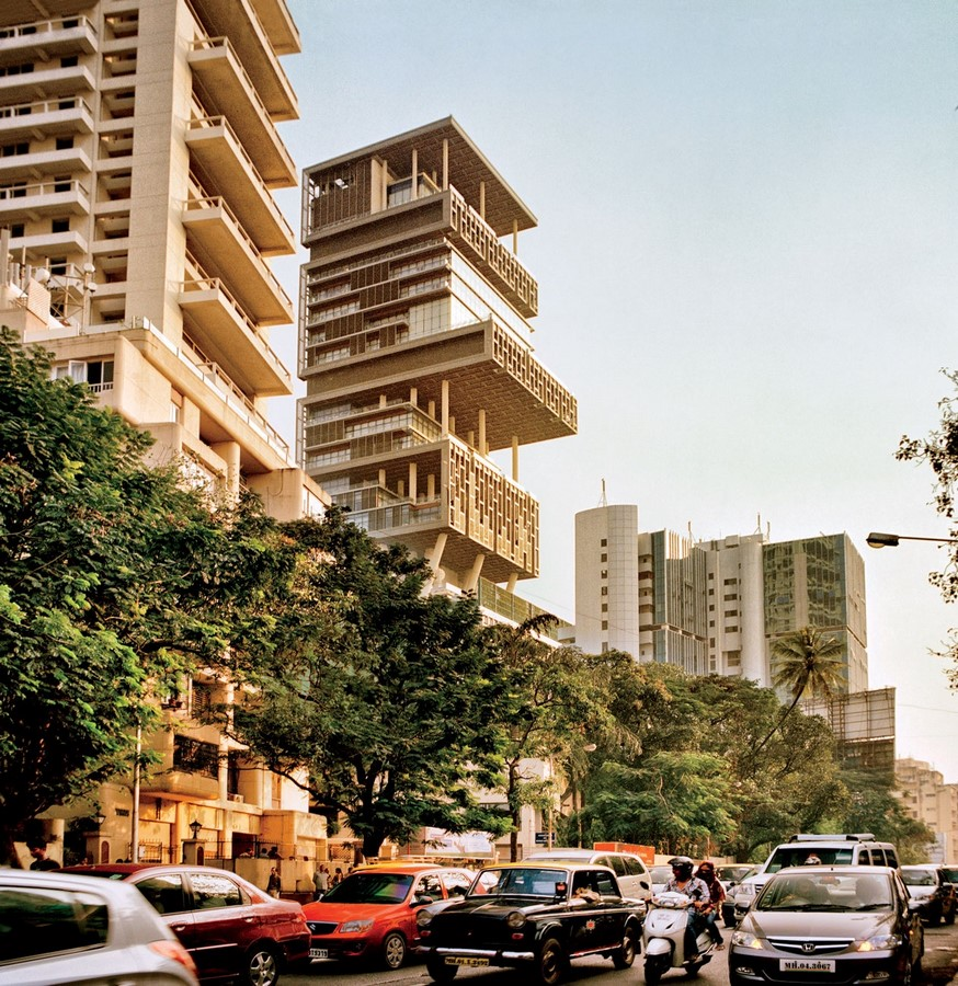 Antilia, Mumbai, India - Sheet1