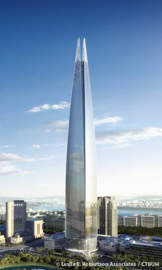 Lotte World Tower - Sheet2