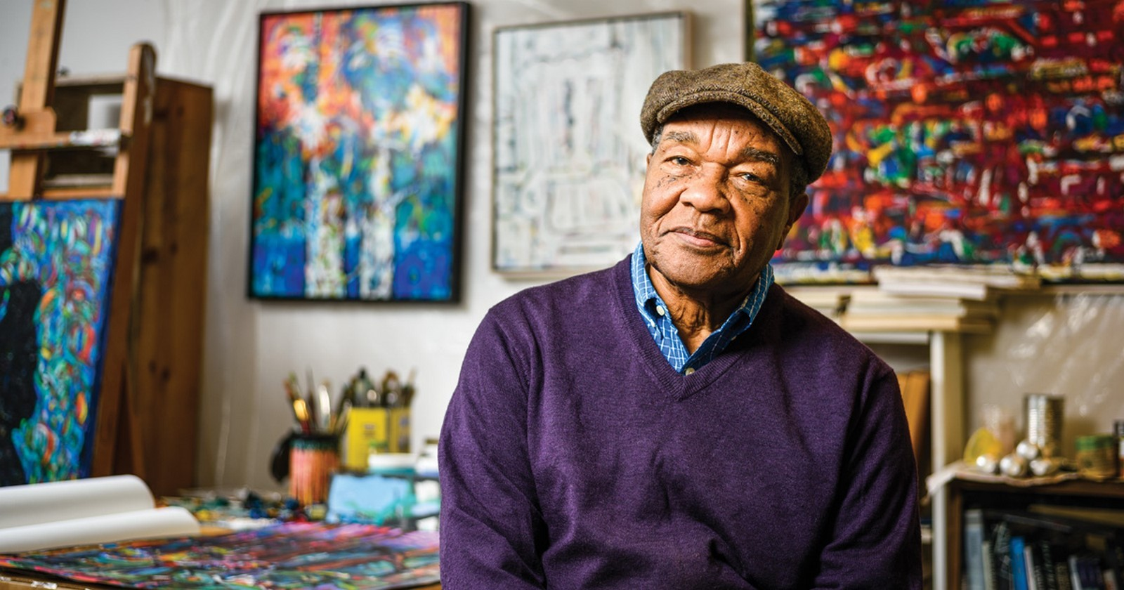 DAVID DRISKELL- ARTIST AND ADVOCATE FOR AFRICAN AMERICAN ART - Sheet1