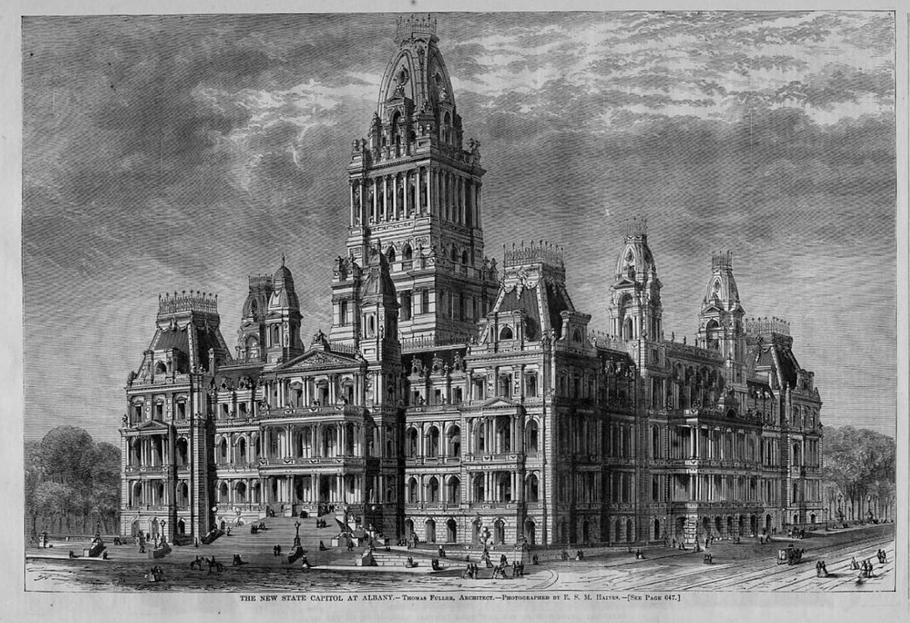 New York State Capitol (Albany, New York: 1899) - Sheet2