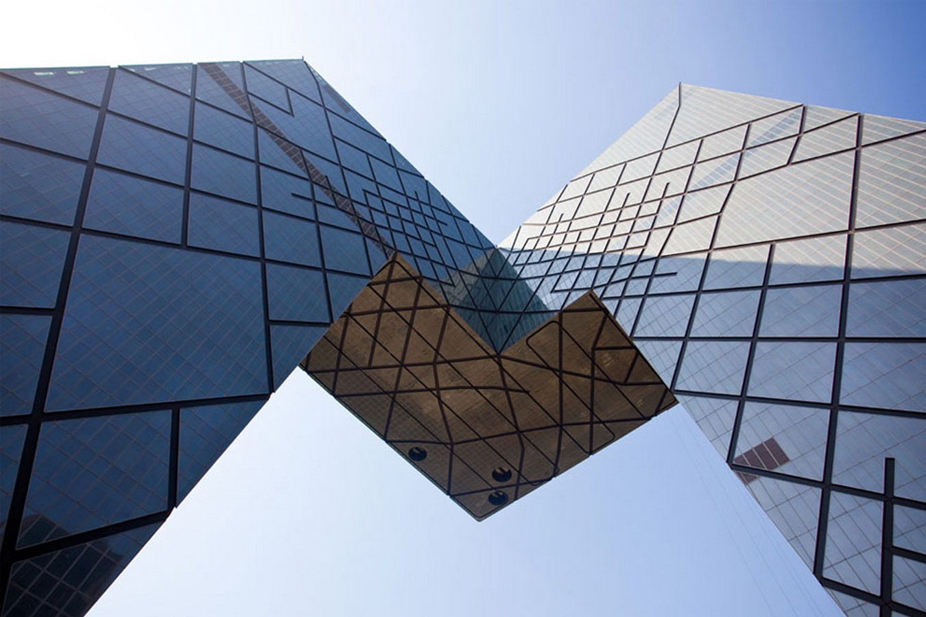 CCTV Tower by Rem Koolhaas- The world's most controversial building - Sheet1