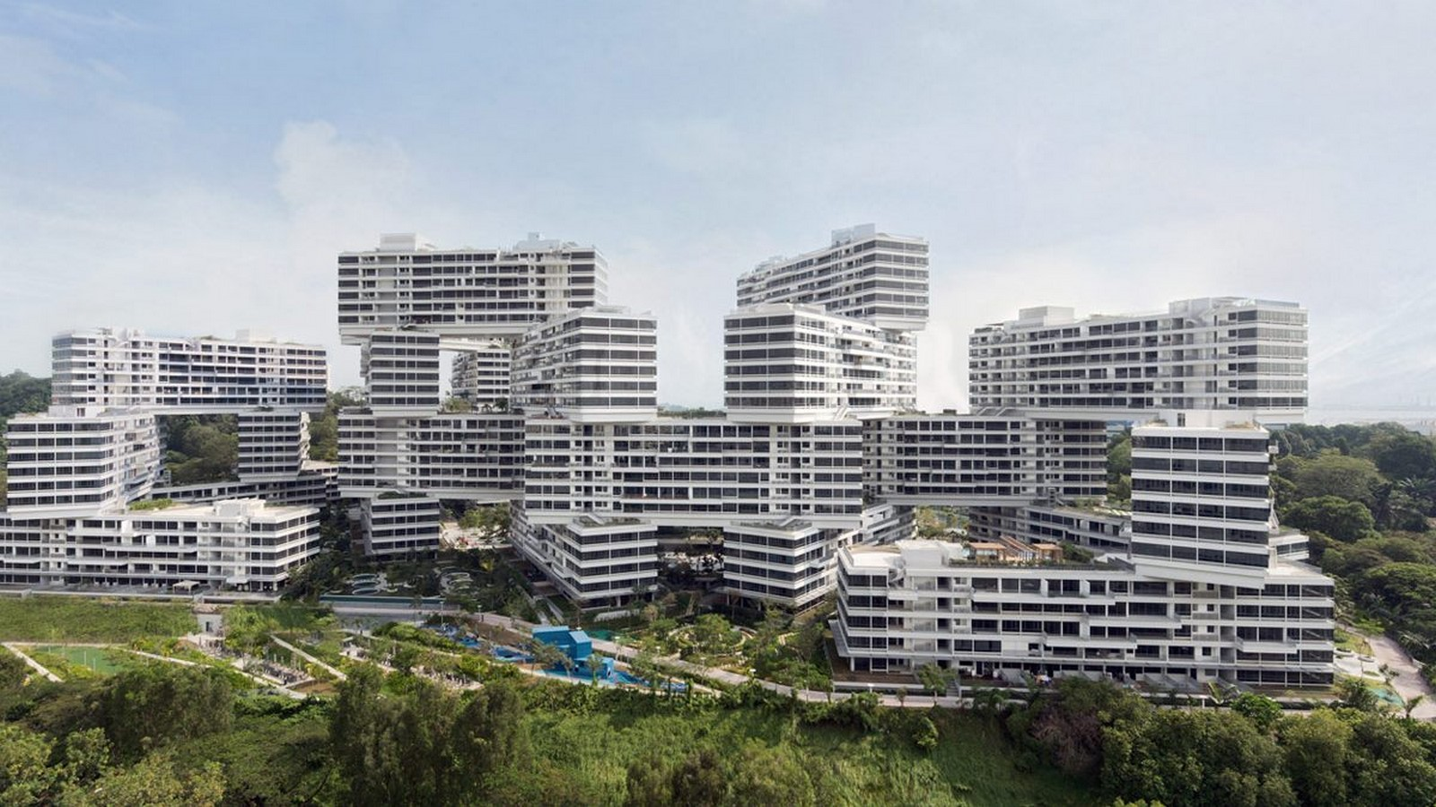 The Interlace by OMA- A new direction for cities - Sheet1
