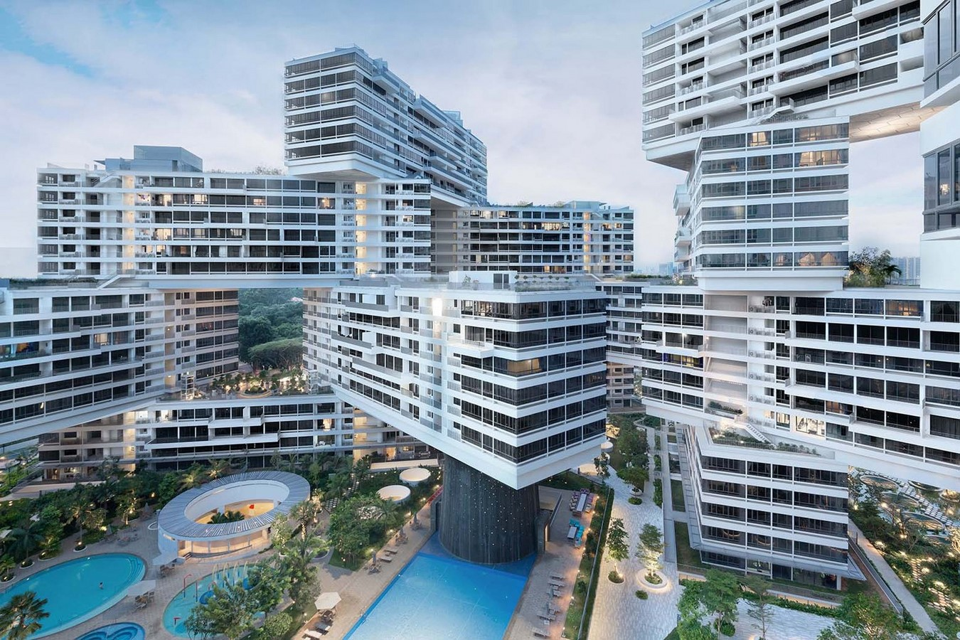 The Interlace by OMA- A new direction for cities - Sheet11