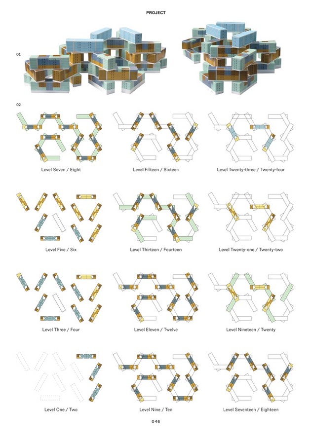 The Interlace by OMA- A new direction for cities - Sheet7