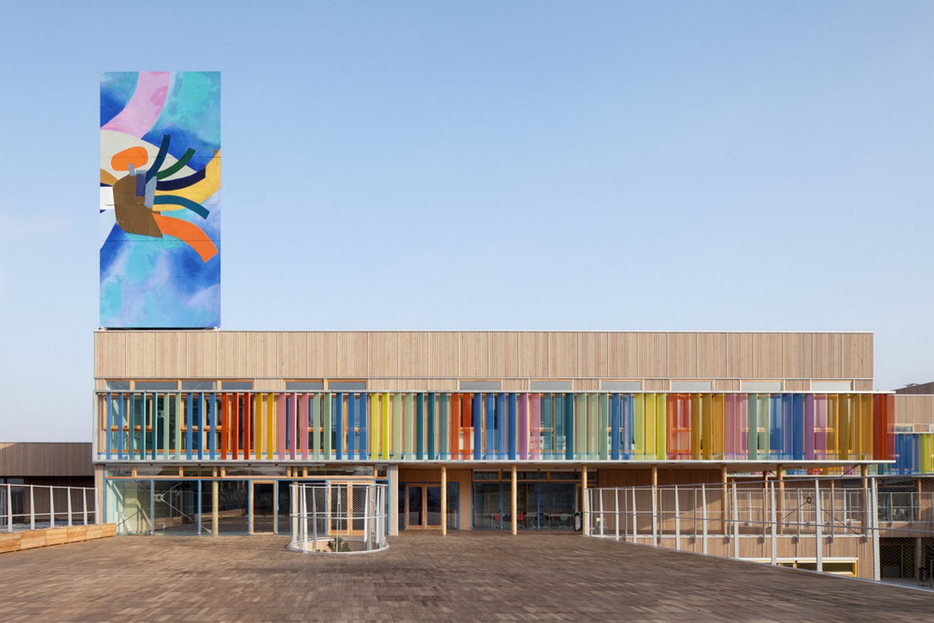 15 Educational Buildings that Architects Should Know About-Groupe Scolaire Pasteur - Sheet1