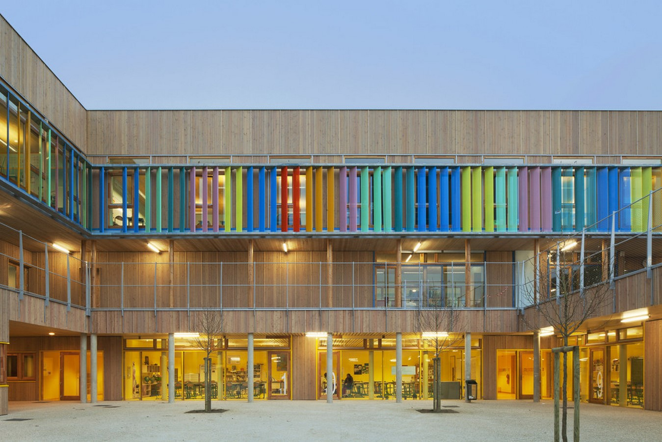 15 Educational Buildings that Architects Should Know About-Groupe Scolaire Pasteur - Sheet2