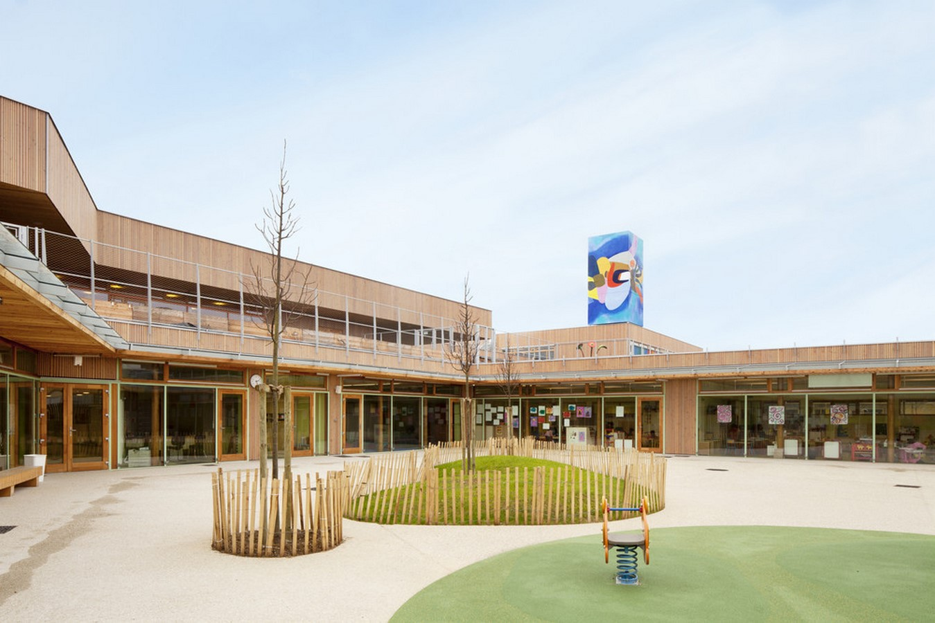 15 Educational Buildings that Architects Should Know About-Groupe Scolaire Pasteur - Sheet3